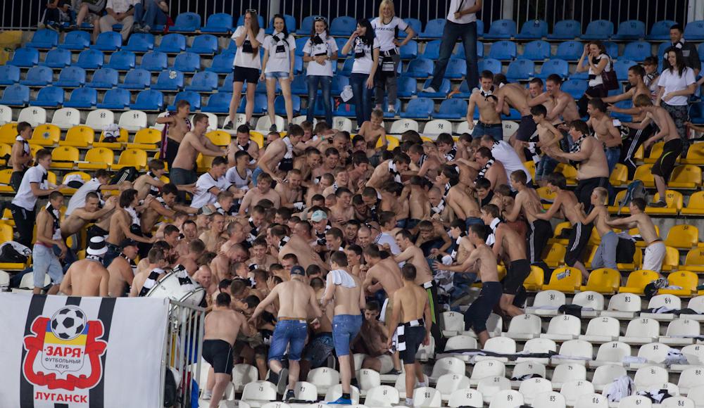 Статья: 'Заря' - 'Металлист'. ФОТОгалерея от lugansk-football.com